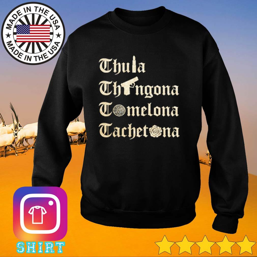 Chula Chingona Comelona Cachetona s Sweater black