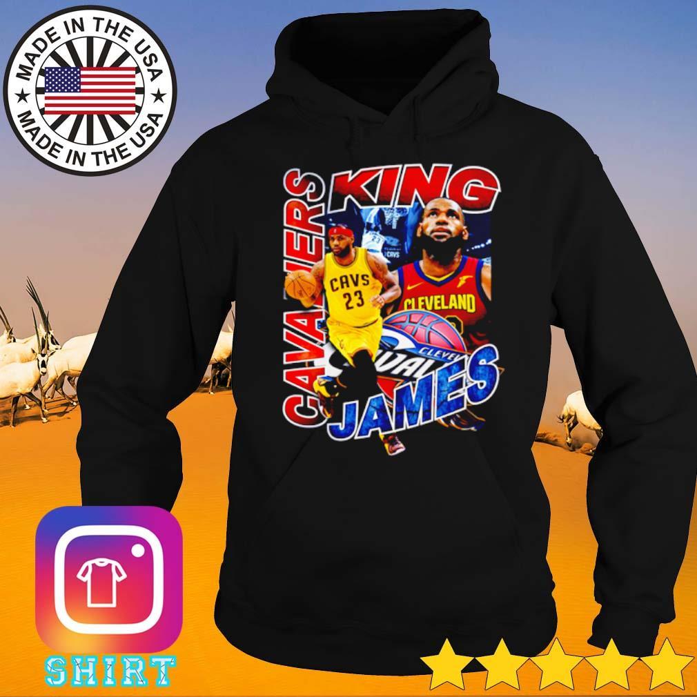 Cleveland Cavaliers King LeBron James NBA old school s Hoodie