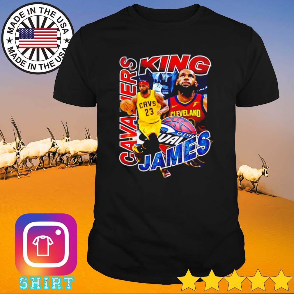 Cleveland Cavaliers King LeBron James NBA old school shirt