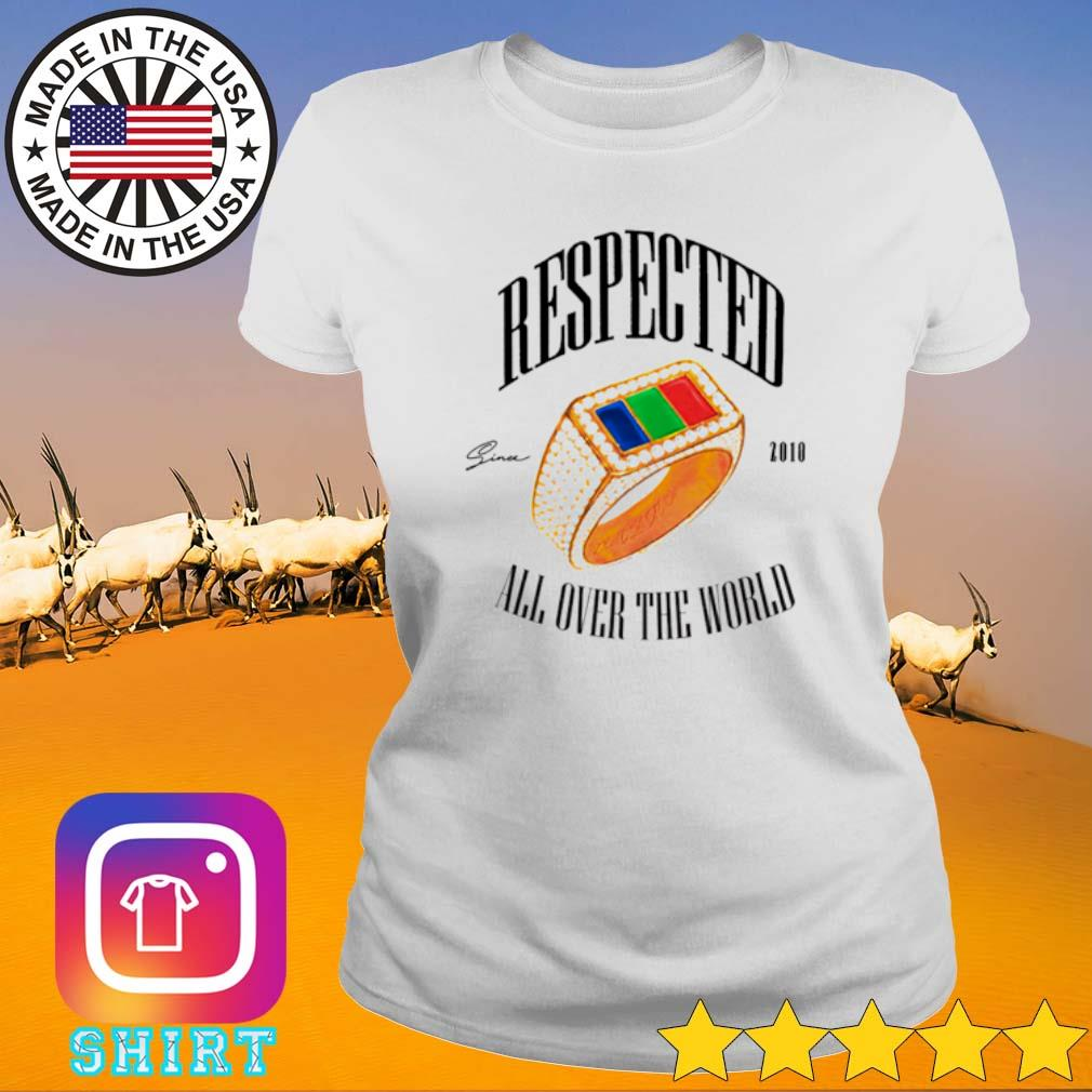 Dom Kennedy Respected 2010 all over the world s Ladies tee