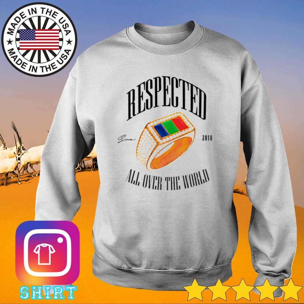 Dom Kennedy Respected 2010 all over the world s Sweater