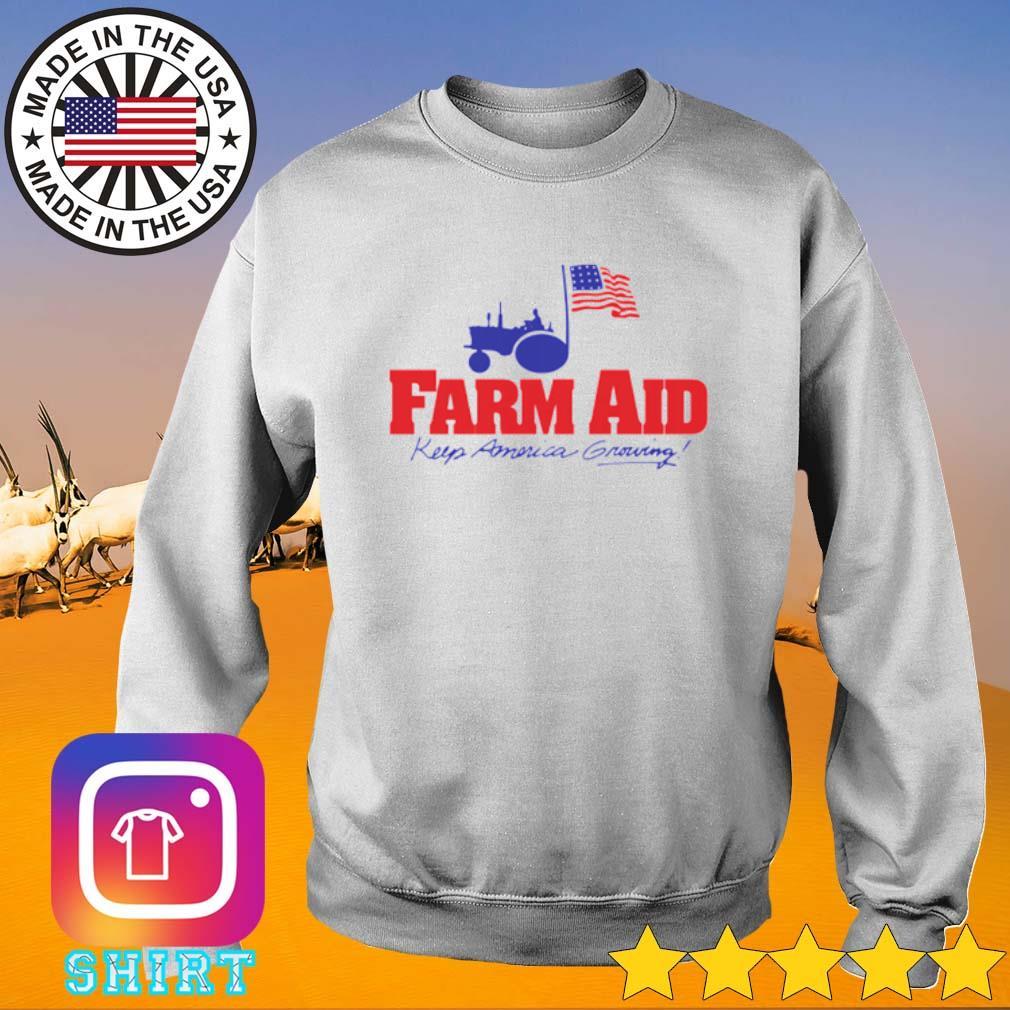 Farm aid keep America growing s Sweater White