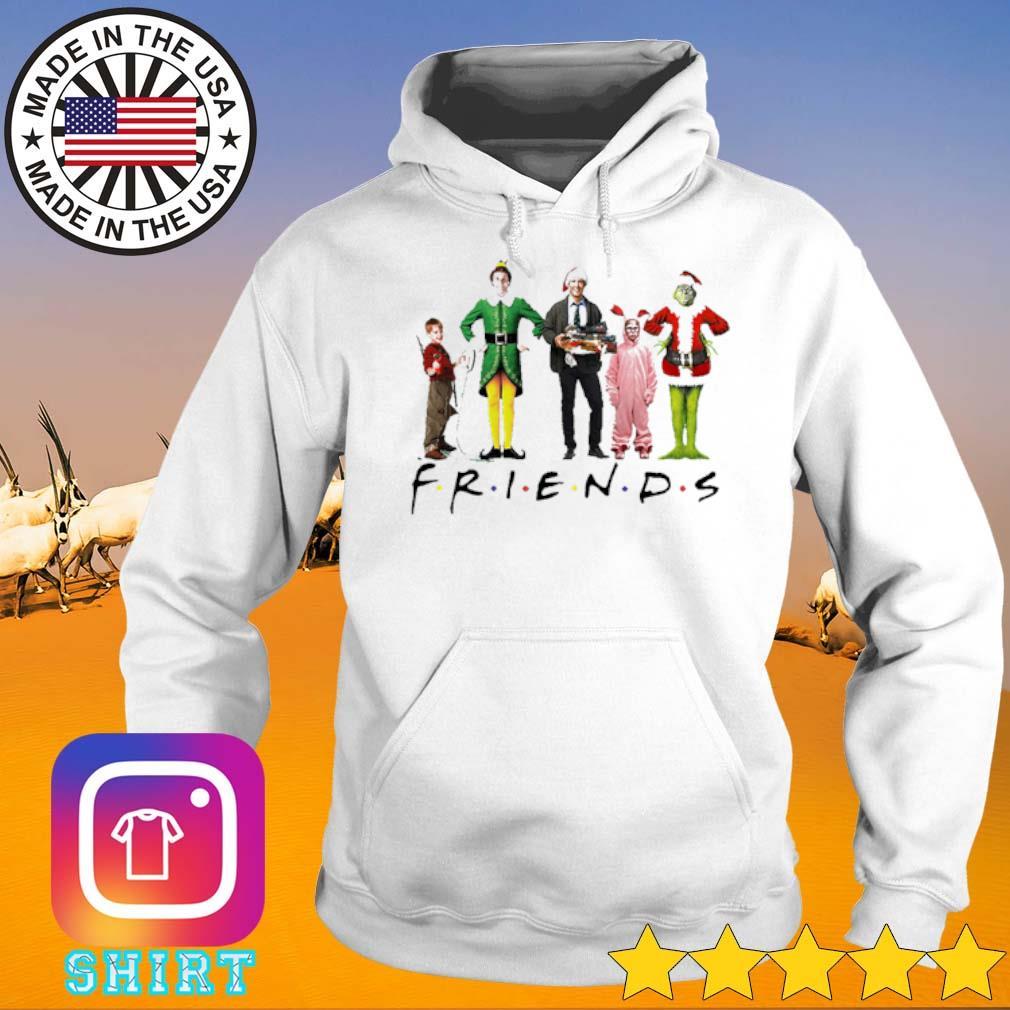 Friends ELF Christmas movie characters sweater Hoodie