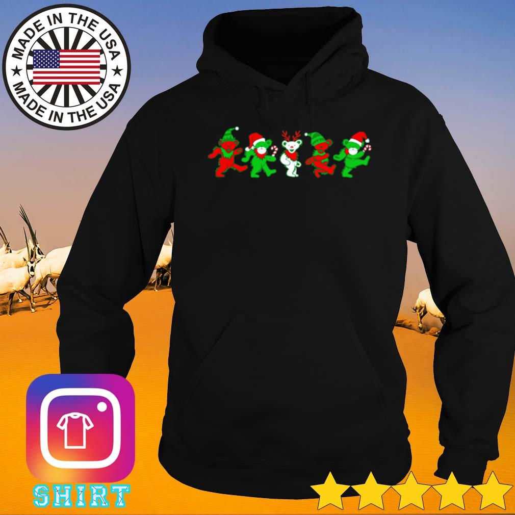 Grateful dead bears Christmas sweater Hoodie