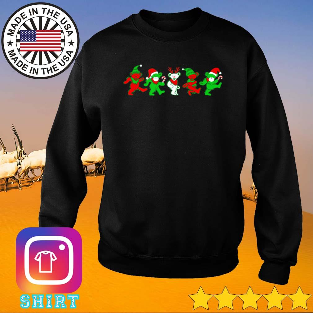 Grateful dead bears Christmas sweater