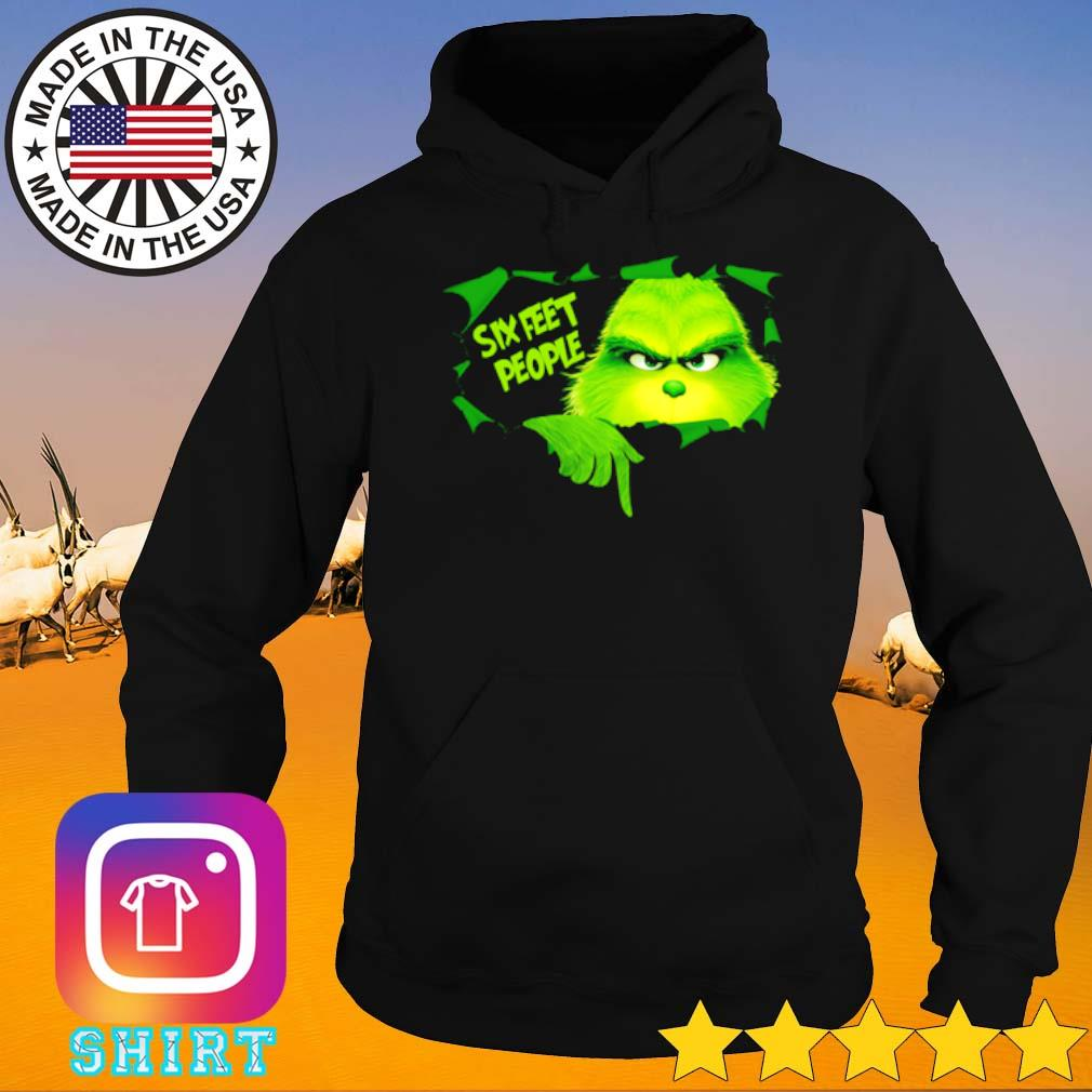 Grinch six feet people Christmas sweater Hoodie