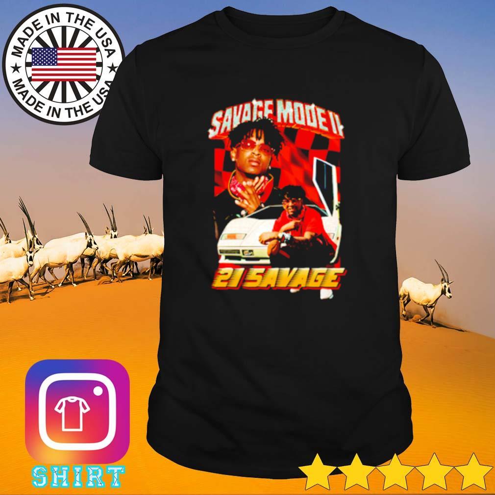 Metro Boomin Savage Mode II 21 Savage shirt