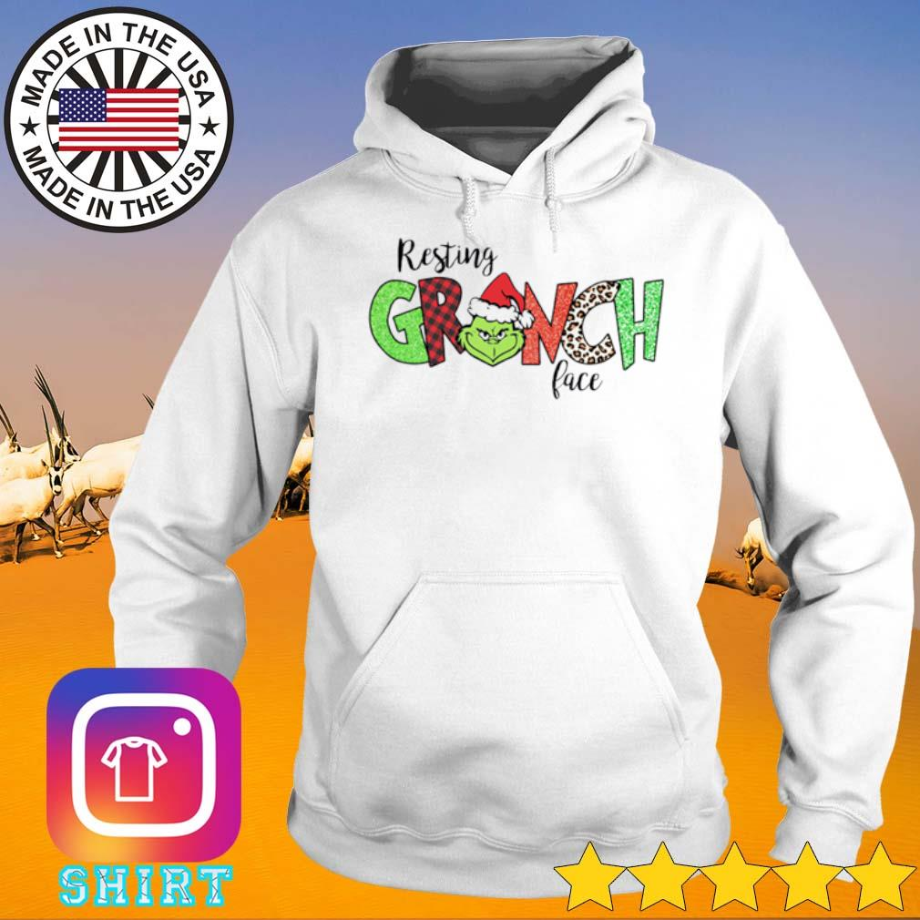 Resting grinch face Christmas sweater Hoodie