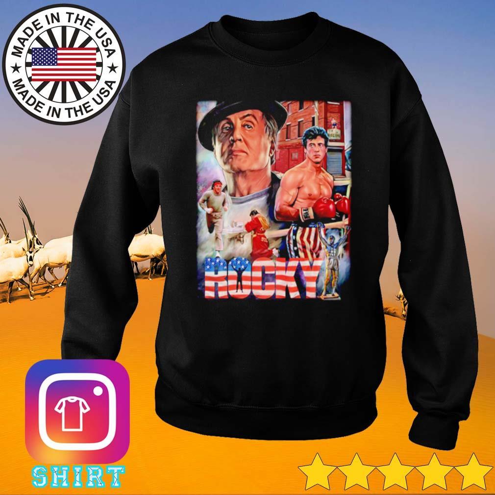 Rocky movies American s Sweater
