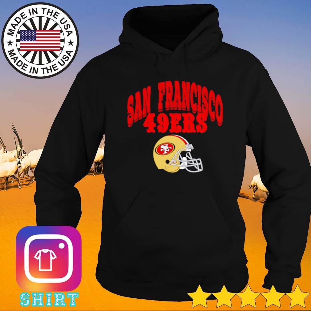 San Francisco 49ers football team s Hoodie black
