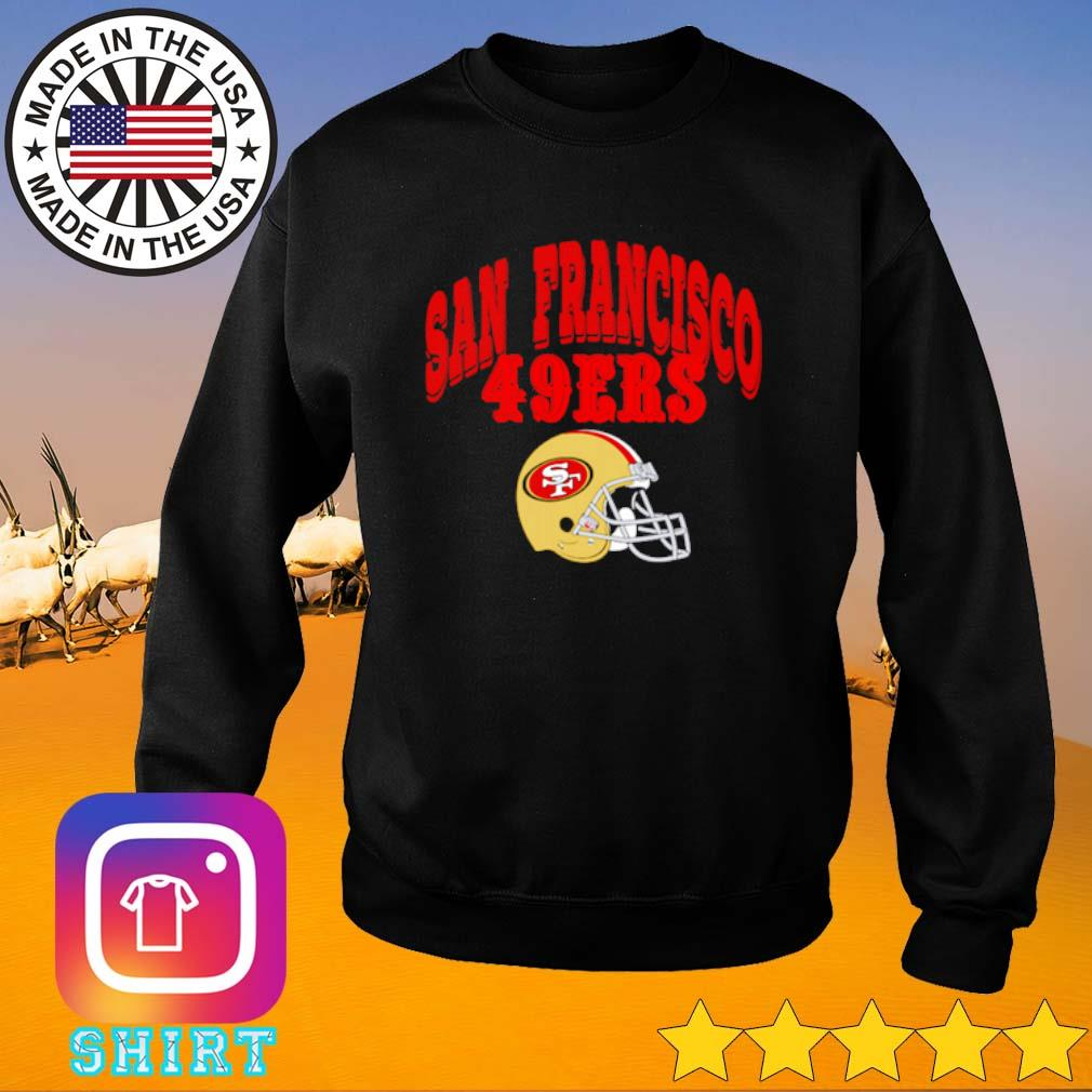 San Francisco 49ers football team s Sweater black