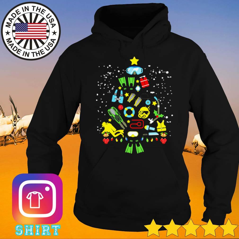 Scuba diving Christmas sweater Hoodie