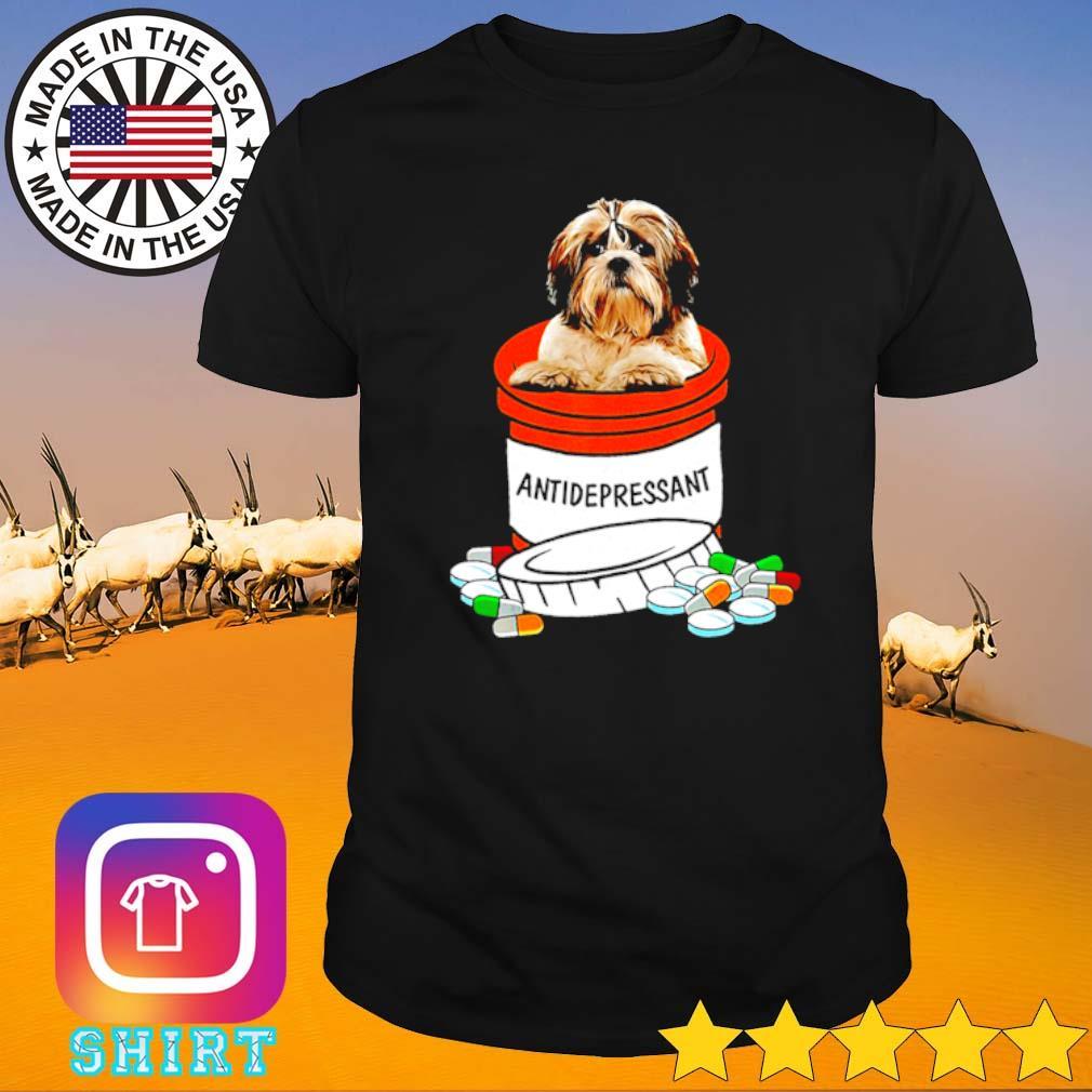 Shih Tzu antidepressant shirt