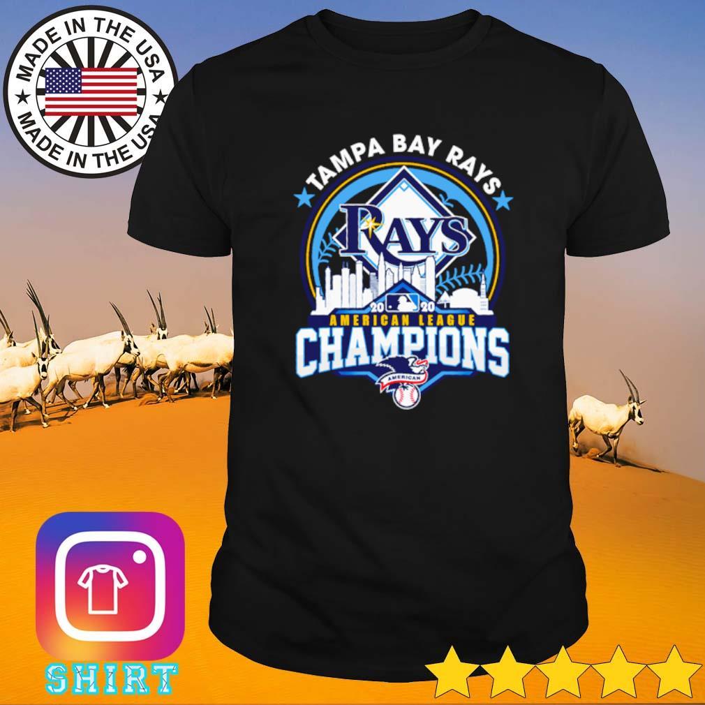 Tampa Bay Rays 2020 American league Champions shirt