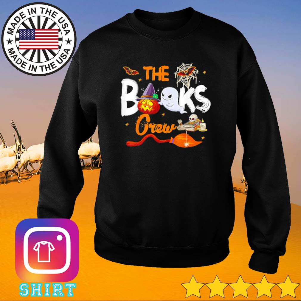 The books crew Halloween s Sweater