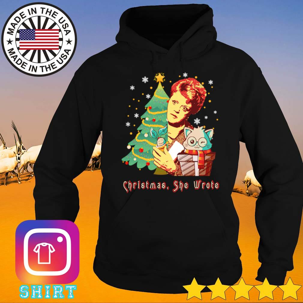 The Golden Girls Blanche Devereaux Christmas she wrote sweater Hoodie