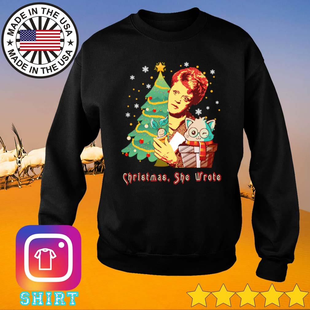 The Golden Girls Blanche Devereaux Christmas she wrote sweater