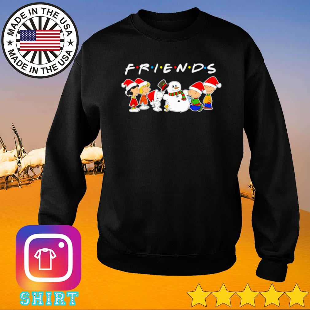 The Peanuts Snoopy and Charlie Brown Friends Christmas sweater