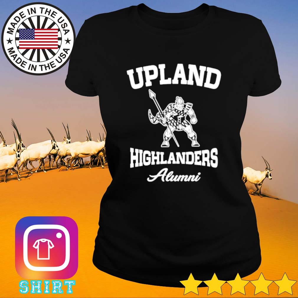 Upland highlanders Alumni s Ladies Tee black