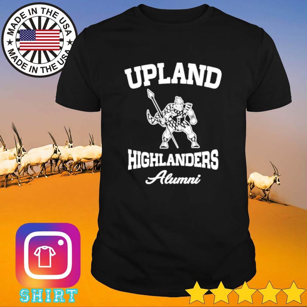 Upland highlanders Alumni shirt