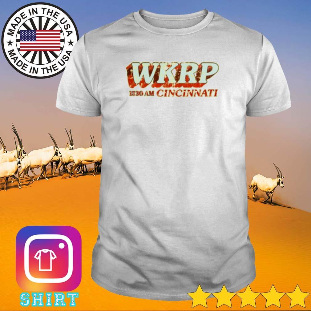 WKRP 1530 am Cincinnati shirt
