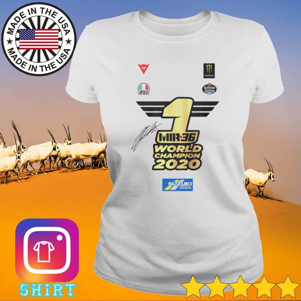 1 MR36 World Champion 2020 s Ladies tee