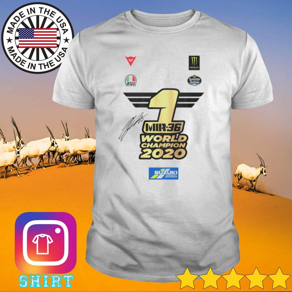 1 MR36 World Champion 2020 shirt