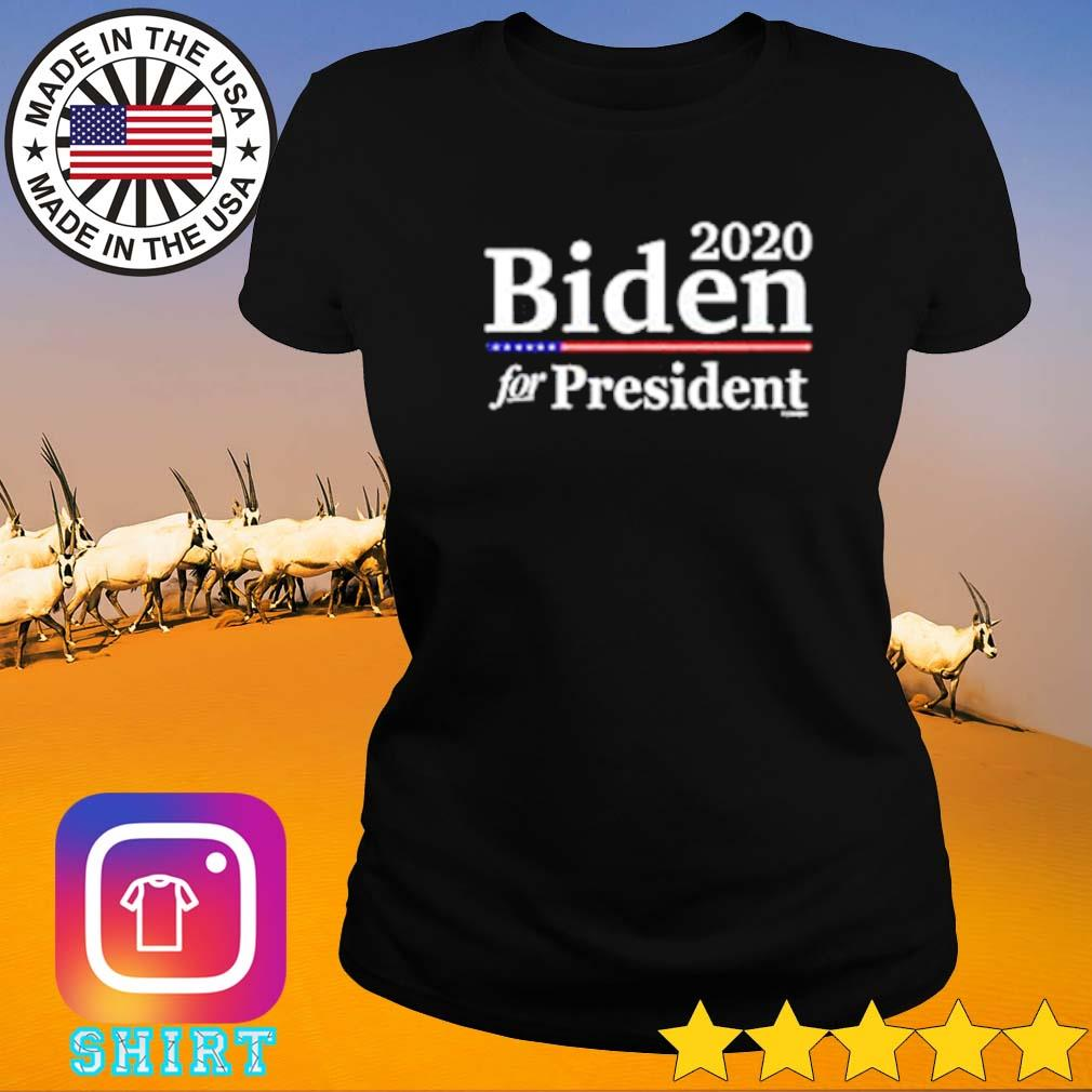 2020 Biden for president s Ladies tee