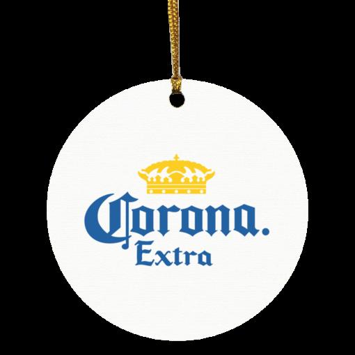 Corona Extra Christmas circle ornament