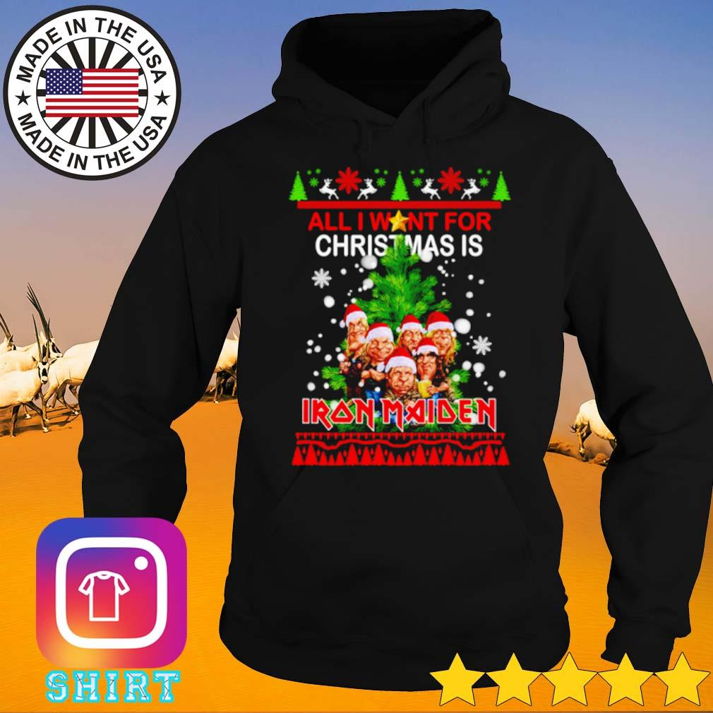 All I want for Christmas is Iron Maiden ugly Christmas sweater Hoodie