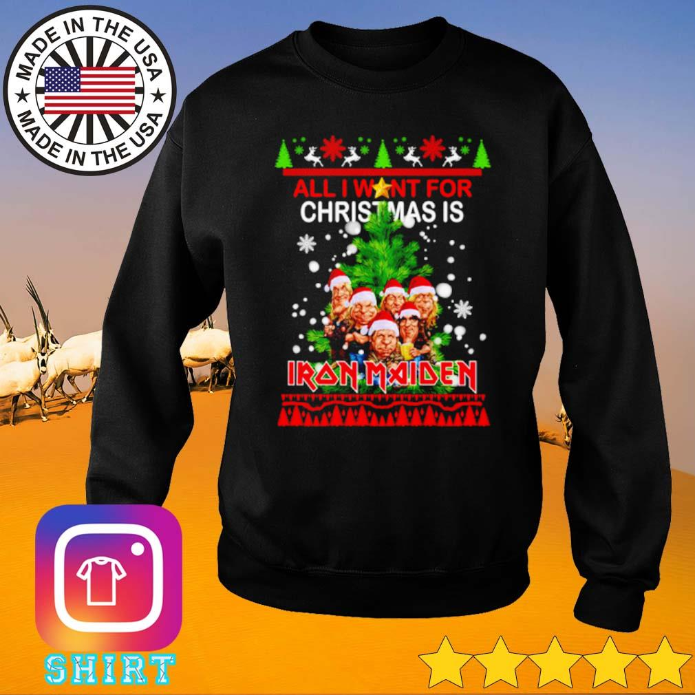 All I want for Christmas is Iron Maiden ugly Christmas sweater
