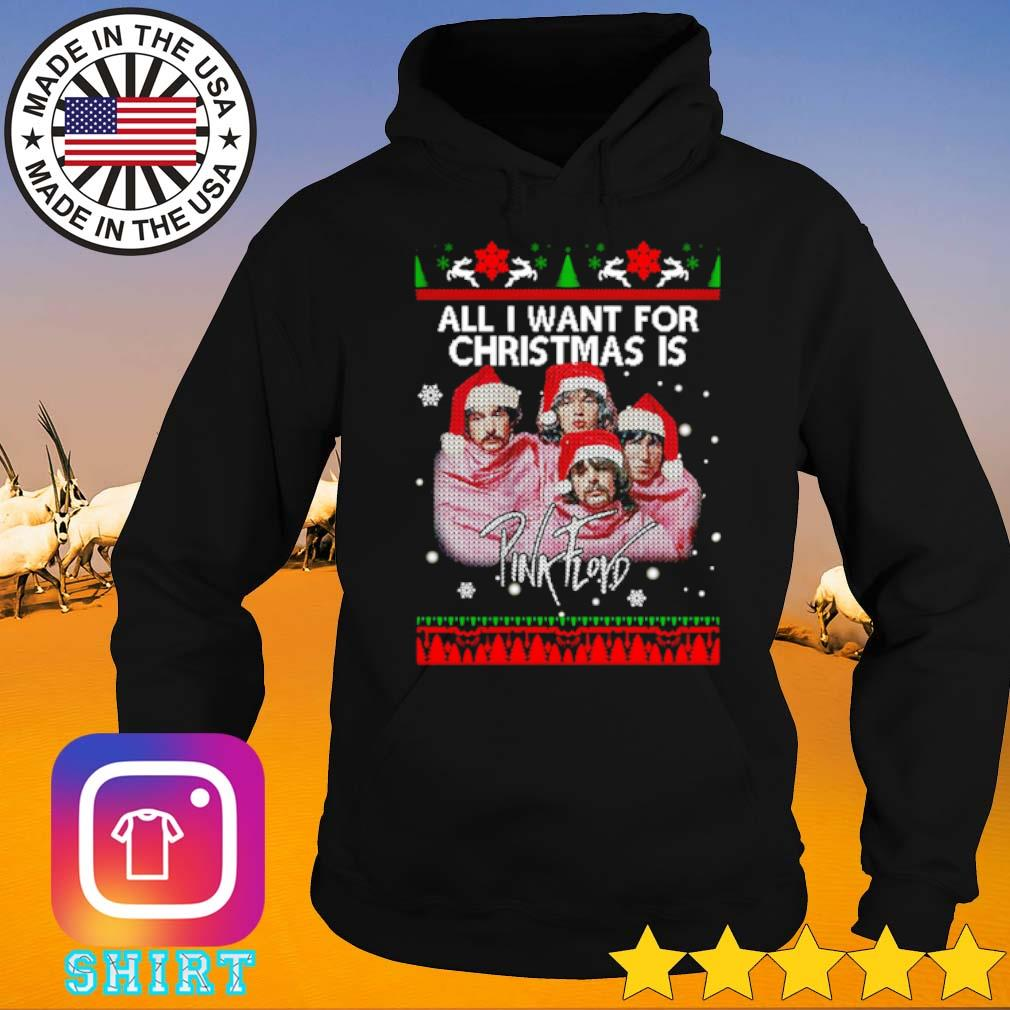 All I want for Christmas is Pink Floyd ugly Christmas sweater Hoodie