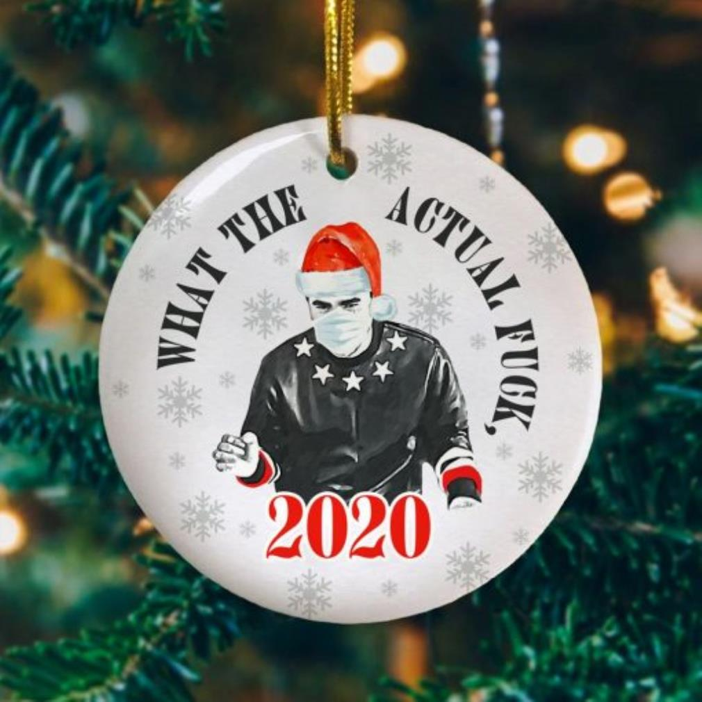 David Rose Schitts what the actual fuck 2020 Christmas ornament