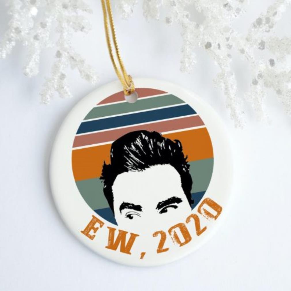 Ew 2020 David vintage Christmas ornament
