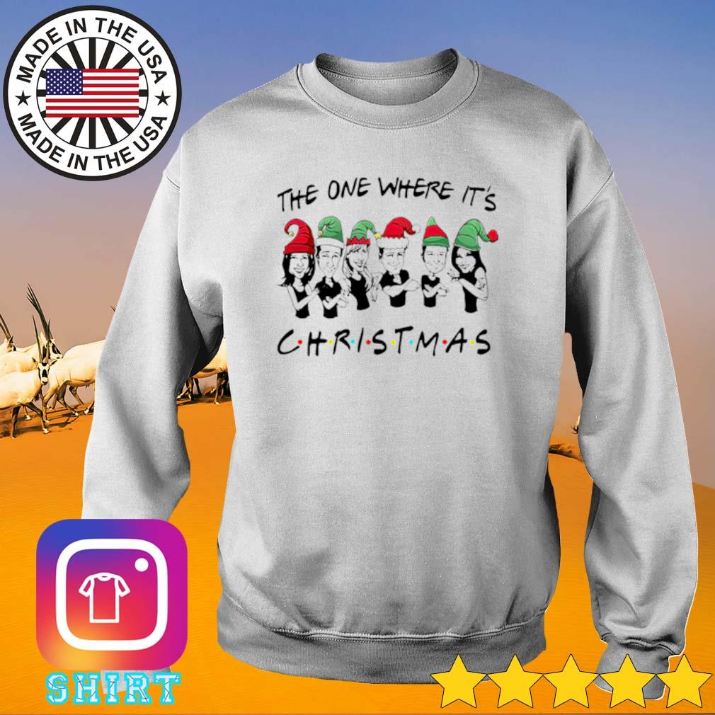 Friends the one where it's Christmas sweater
