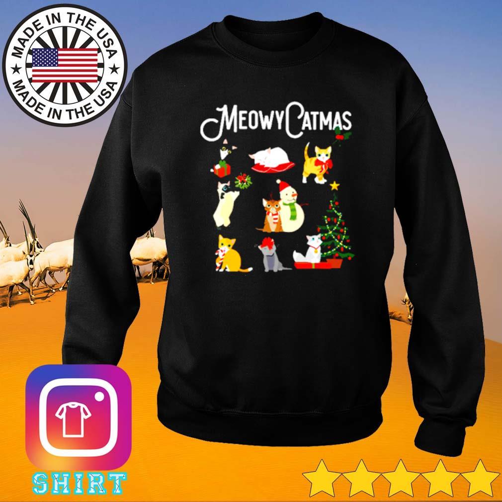 Meowy Catmas Christmas sweater