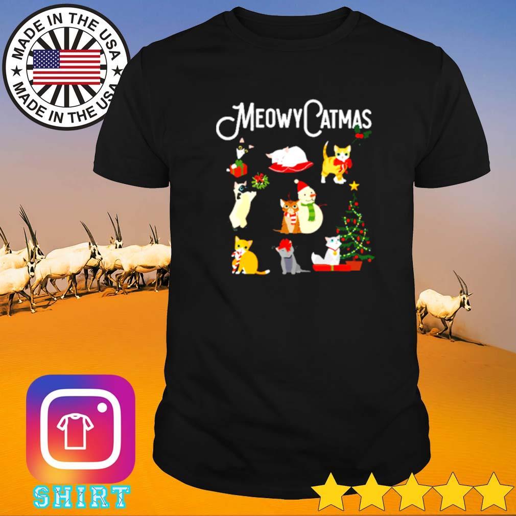 Meowy Catmas Christmas sweater shirt