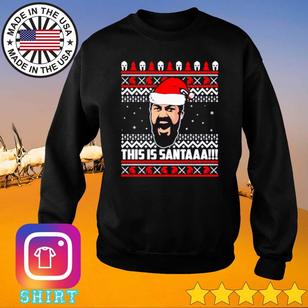 This is Santaaa ugly Christmas sweater