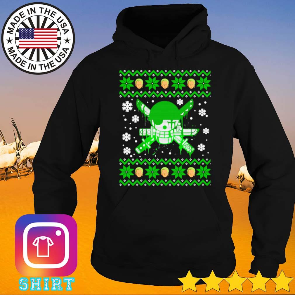 Zoro ugly Christmas sweater Hoodie