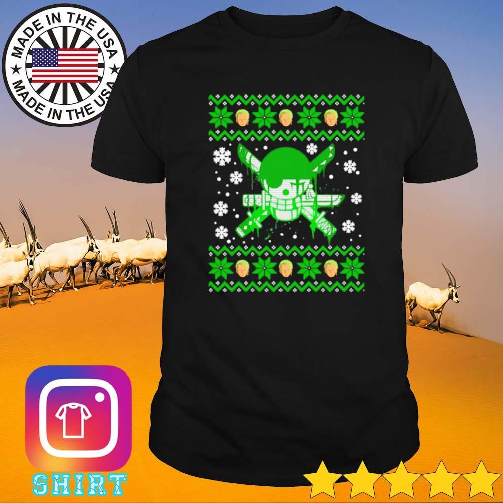 Zoro ugly Christmas sweater shirt