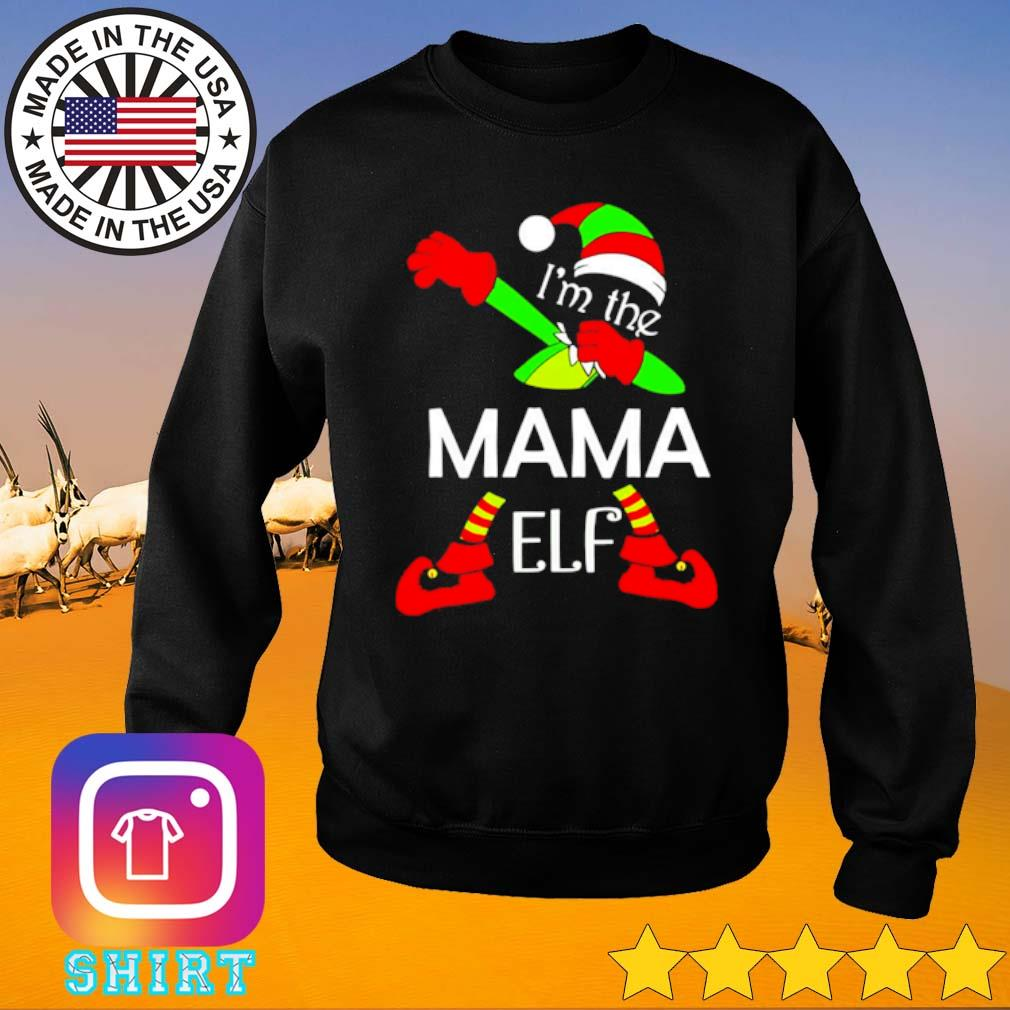 I'm the Mama Elf Christmas sweater