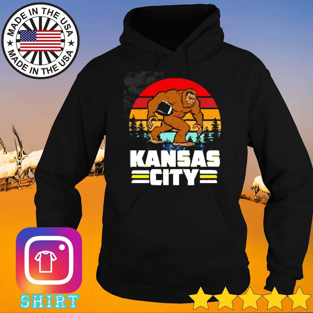 Bigfoot kansas city vintage s Hoodie
