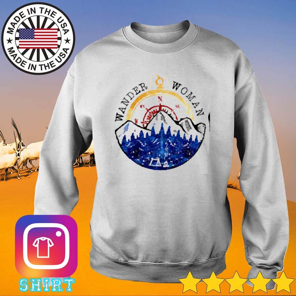 Girl wander woman camping s Sweater
