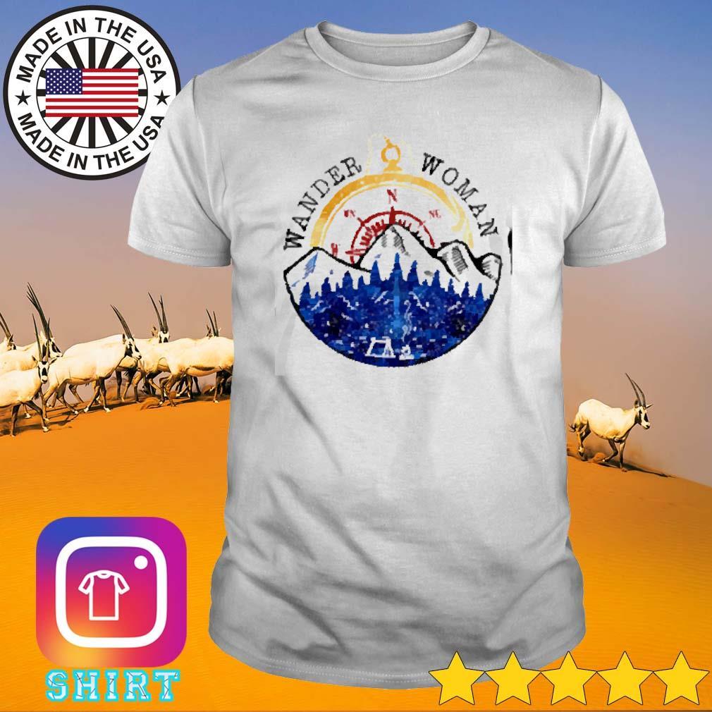 Girl wander woman camping shirt