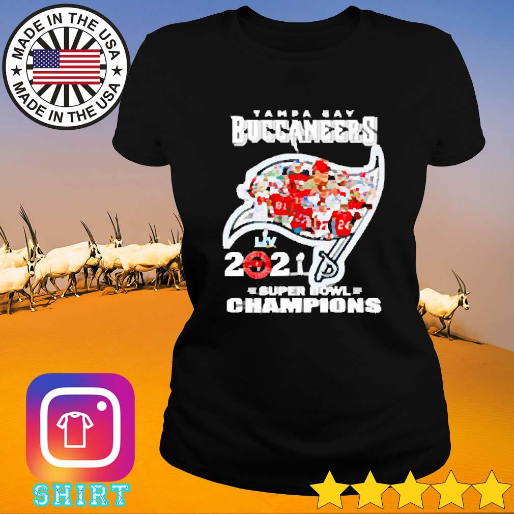 Super bowl champions LIV Tampa Bay Buccaneers 2021 s Ladies tee