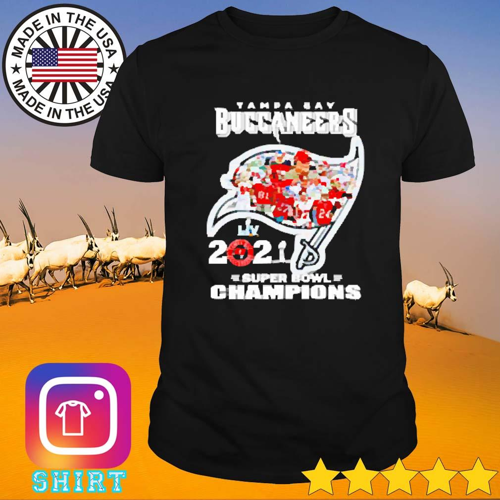 Super bowl champions LIV Tampa Bay Buccaneers 2021 shirt