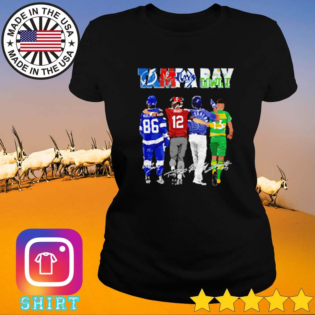 Tampa Bay Lightning Buccaneers Ray players s Ladies tee