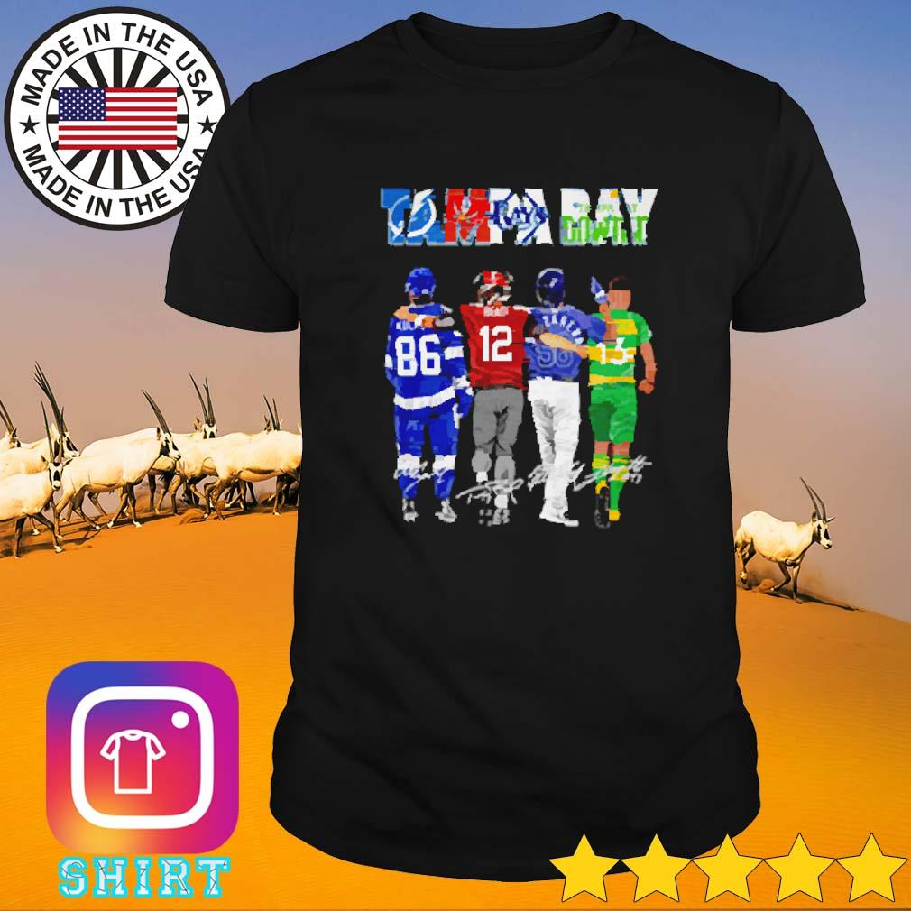 Tampa Bay Lightning Buccaneers Ray players shirt